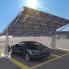 La realizzazione di un parcheggio fotovoltaico